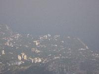 Гаспра с вершины горы Ай-Петри