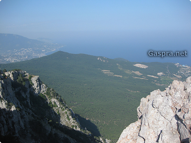 Extreme tourism in Gaspra and Crimea