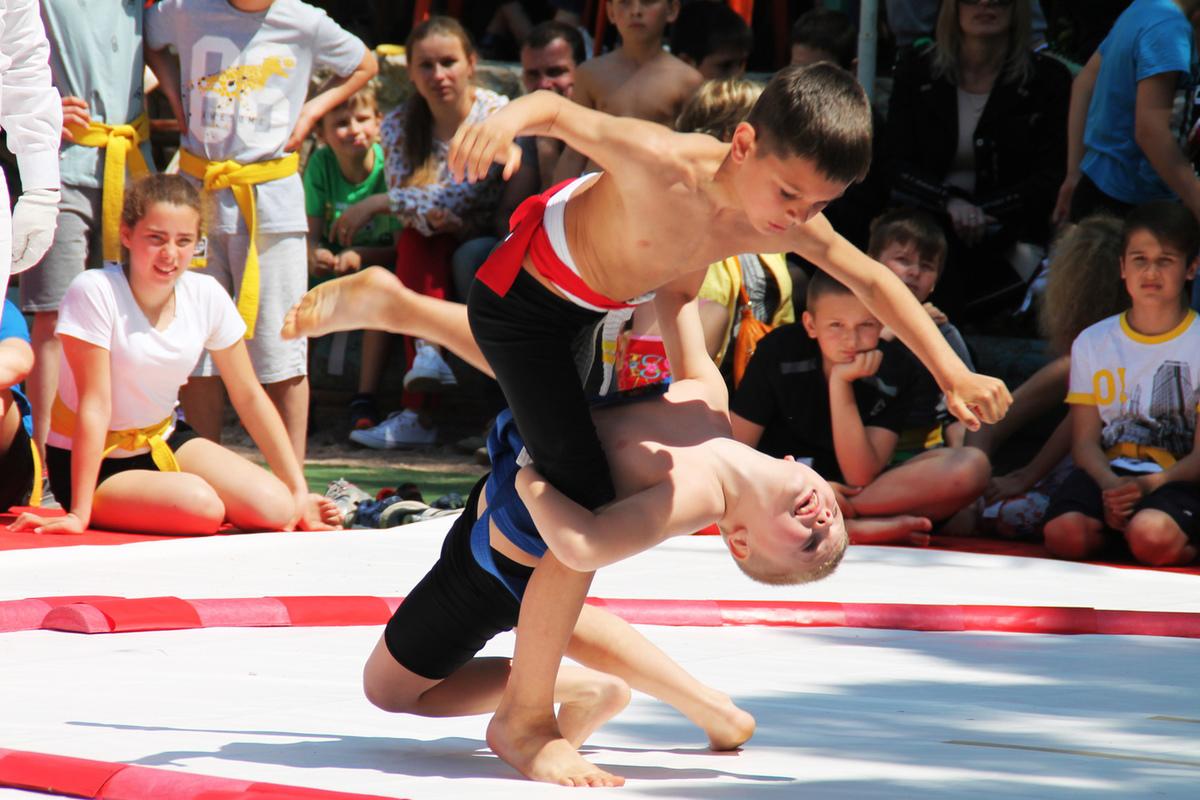 В Гаспре провели первенство по сумо