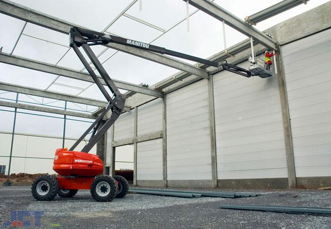 Гидравлические строительные подъёмники для многих задач в Спб