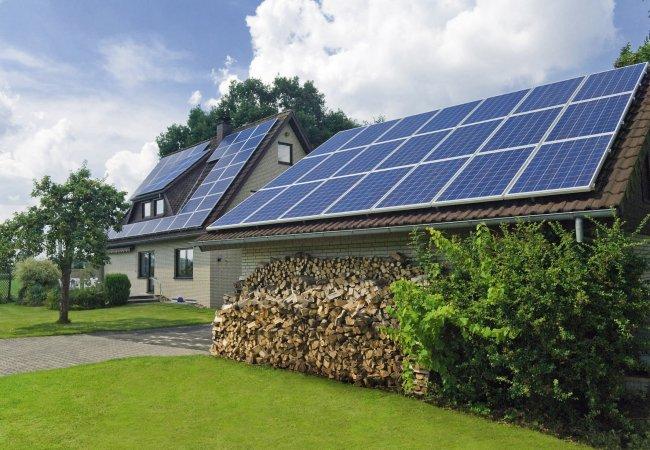 Электропитание от солнца для дома