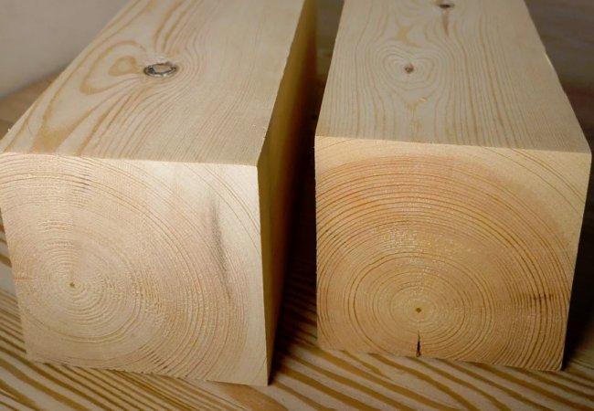 Брус деревянный – экологичный строительный материал