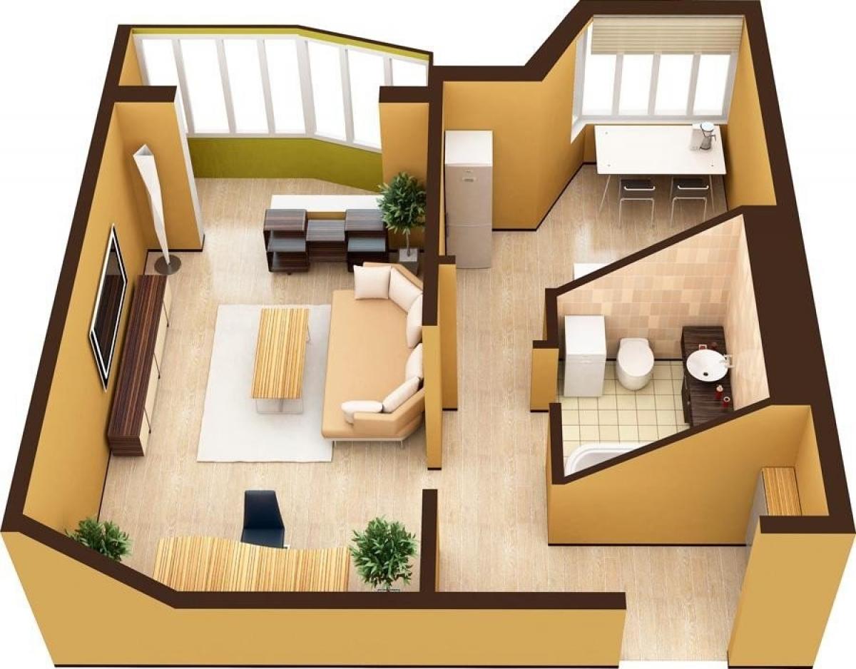 Выбор недвижимости для холостяка — однокомнатные квартиры в Орле
