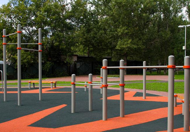 Спортивные площадки для улицы от производителя