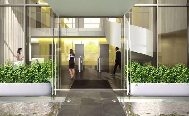Проектирование входной зоны офиса