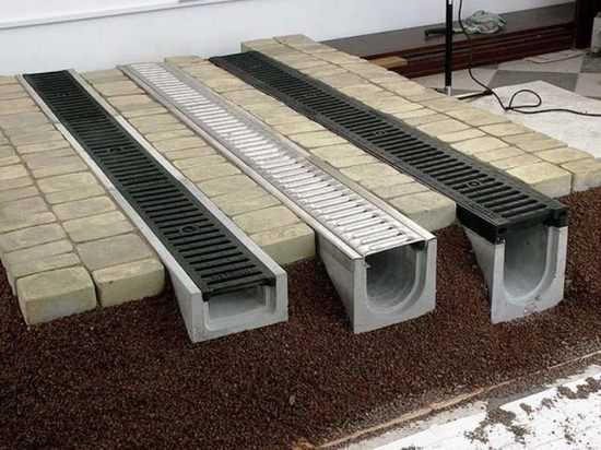Системы водоотвода. Пескоуловитель. Области применения