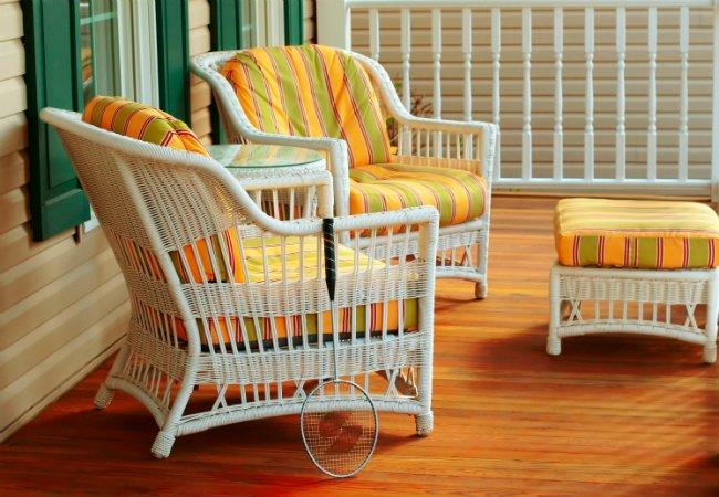 Мебель для сада. Подвесное кресло кокон