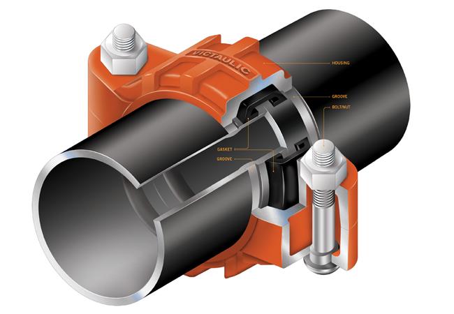 Соединение трубопроводных систем с отводами