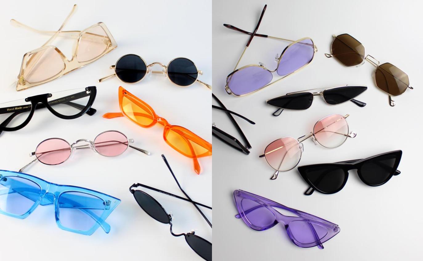 Ассортимент солнцезащитных очков в магазине Sunglasses.ua